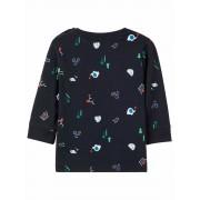 Name It! Jongens Shirt Lange Mouw - Maat 56 - Donkerblauw - Katoen/elasthan