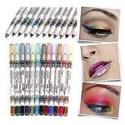 MeNow MN Sketch set of 12 Creamy Lip Liner Pencils/Eye Pencil