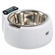 Ferplast Optima tál mérleggel kutyáknak, macskáknak - 850 ml, fehér
