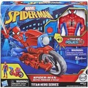 Marvel Spider-Man Titan Hero Series Power Cycle
