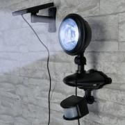 Lampa solara cu 3 led-uri si senzor de miscare