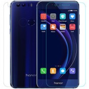 SCREEN CARE Crystal Clear Screen Protector Guard Anti-Bubble Free Tempered Glass Guard for Honor 8 Pro