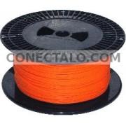 Bobina de fibra óptica 62.5/125 multimodo 2.0 mm simplex de 500 m