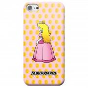 Nintendo Super Mario Princess Peach Peeking Telefoonhoesje - iPhone 6 - Snap case - glossy