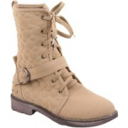 Adorn Active And Cool Boots For Women(Beige)