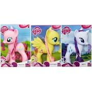 My Little Pony 8 Inch Pony Figures Set Pinkie Pie, Fluttershye & Rarity