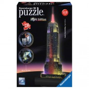 Ravensburger Empire State Building nachteditie 3D puzzel 216 stukjes