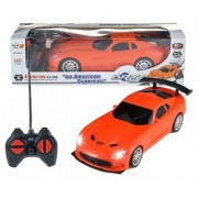 Remote Control High Speed Racing American Super Car for Kids (Orange)