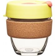 Skleněný Termohrnek KeepCup Brew Saffron Small - žlutý