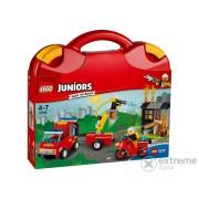 LEGO® Juniors Trusa patrulei de pompieri 10740