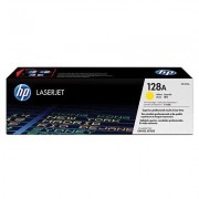 Hp Ce322a Cp1525/cm1415 Toner Yellow Genuine