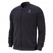 Nike Paris Saint Germain Fleece Trainingsjack - Grijs - Size: Medium