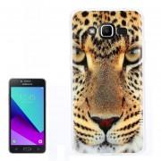 Para Samsung Galaxy J2 Primer / G532 Leopardo Patron TPU Caso