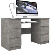 CUBA beton calculator de birou 6 sertare
