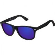 David Blake Blue Wayfarer Polarised UV Protected Sunglass