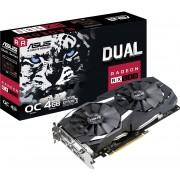 Asus Radeon RX 580 DUAL OC 4G - Grafische kaart - Radeon RX 580 - 4 GB GDDR5 - PCIe 3.0 x16 - DVI, 2 x HDMI, 2 x DisplayPort