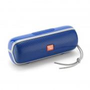 Portable Bluetooth Speaker Wireless Outdoor Stereo Super Bass MP3 Player FM Radio TF Card Player - Dark Blue