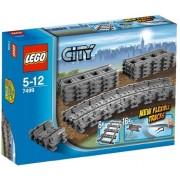 LEGO City Flexible Train Tracks Building Blocks For Kids 5 to 12 Years ( 24 Pcs) 7499