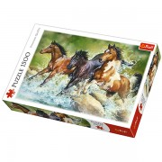 Trefl Puzzle Slagalica Three Wild Horses 1500 kom (26148)