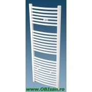 Calorifer de baie cu apa 60x120x5,5cm 1.119 Watt, curb / montaj pe perete