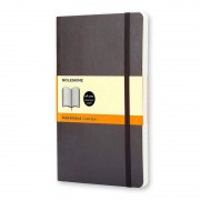 Moleskine Classic Cuaderno A5 192 Hojas Páginas Rayadas Tapa Blanda Negro