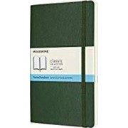 Moleskine Notebook, Large, Dotted, Myrtle Green, Soft by Moleskine