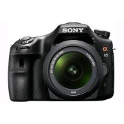 Sony Cámara Reflex Sony Alpha 65 SLT-A65V Negro + Objetivo 18-55mm