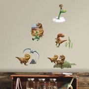 RoomMates rmk3008scs Good Dinosaur despegar y pegar adhesivos de pared, 32 unidades