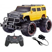 Magicwand Remote Controlled Rechargeable 1:20 Scale Off-Road Monster Racing H2 Hummer (Yellow & Black)