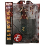 Diamond Select Toys Marvel Select Elektra Action Figure, Multi Color