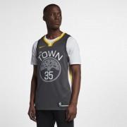 Maillot connecté Nike NBA Kevin Durant Statement Edition Swingman (Golden State Warriors) pour Homme - Noir