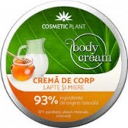 Crema de Corp cu Lapte si Miere Cosmetic Plant 200ml
