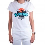 Trenýrkárna Dámské tričko X-jump bílé M