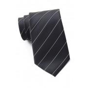 Kenneth Cole Reaction Iridescent Simple Silk Blend Tie BLACK