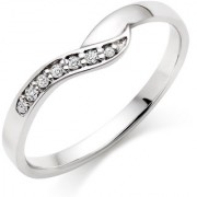 Amogh Jewels Prime Diamond & 925 Sterling Silver Ring