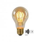 Lucide LED Bulb Twilight Filament lamp E27 4W - amber - 6 cm - Leen Bakker