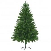 Sonata Изкуствено коледно дърво, реалистични иглички, 180 см, зелено