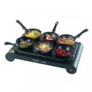 Plita de gatit cu 6 wok-uri Lakeland 31725, 1000W
