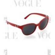 DKNY Cat-eye Sunglasses(Red)