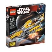 LEGO Star Wars (Star Wars) Anakin's Jedi (Jedi) Starfighter Block Toy (Parallel import)