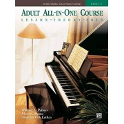Palmer, Willard A Alfred's Basic Adult All-In-One Course, Bk 3: Lesson * Theory * Solo, Comb Bound Book