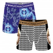 Muchachomalo Boxershorts No Gust-No Glory 2-pack