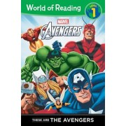 These Are the Avengers Level 1 Reader, Paperback
