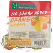 Damhert Orangen Bonbons zuckerfrei