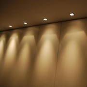 Absinthe Mini Ghost Inbouwplafondlamp GU10 AB 11095-02 Zwart