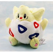 "BabyBlue Shop Togepi Pokemon 8"" Anime Animal Stuffed Plush Plushies Doll Toys"