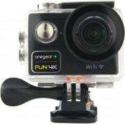 one gear Fun4kbk Action Cam Wifi Videocamera 4k Ultra Hd 12 Mpx 60 Fps Impermeabile Hdmi Colore Nero - Fun4kbk Fun