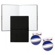 Set Butoni Borealy Elegant Blue Circle si Note pad Black Hugo Boss