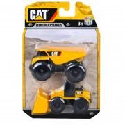 Mini Máquinas Cat Pack X2 Unidades Súper Resistentes - 34635