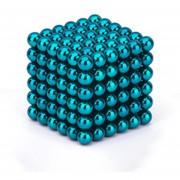 EH Imán Magic Bolas 216pcs Juego de Puzzle magnético 5mm azul